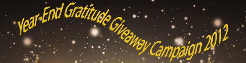 La Mode by GV Miao Year-End Gratitude Giveaway Campaign 2012