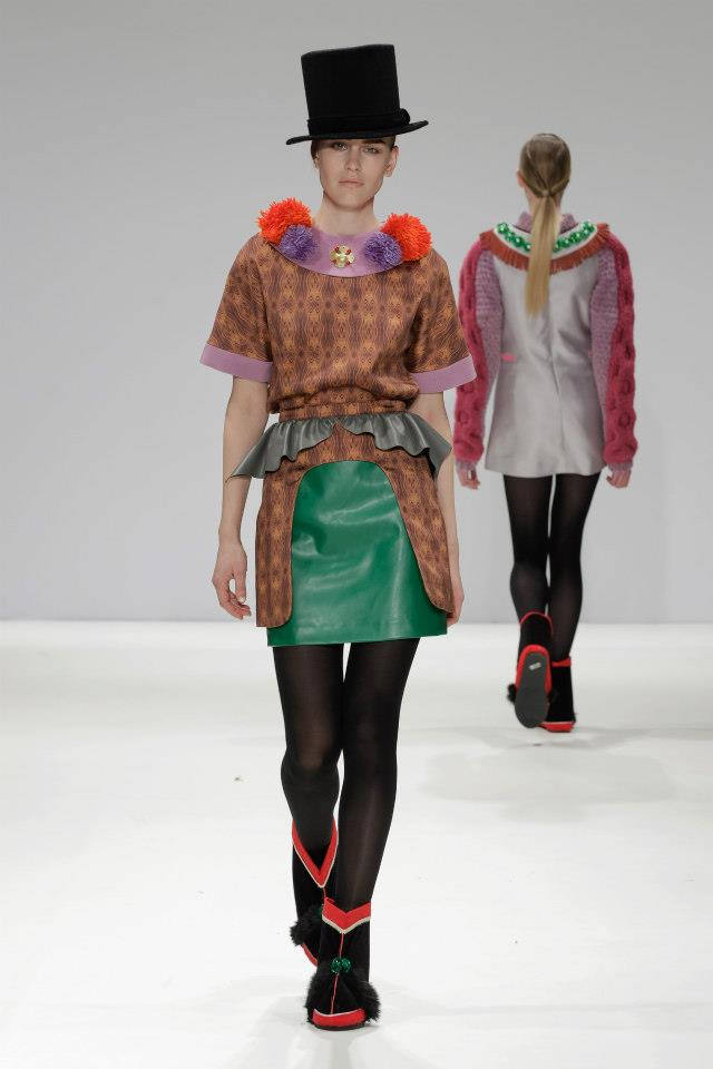 Yeashin Fall 13 runway@London Fashion Scout