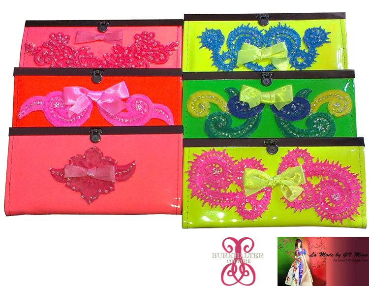 Giveaway campaign with Burkhalter Couture (purse in 6 colors)