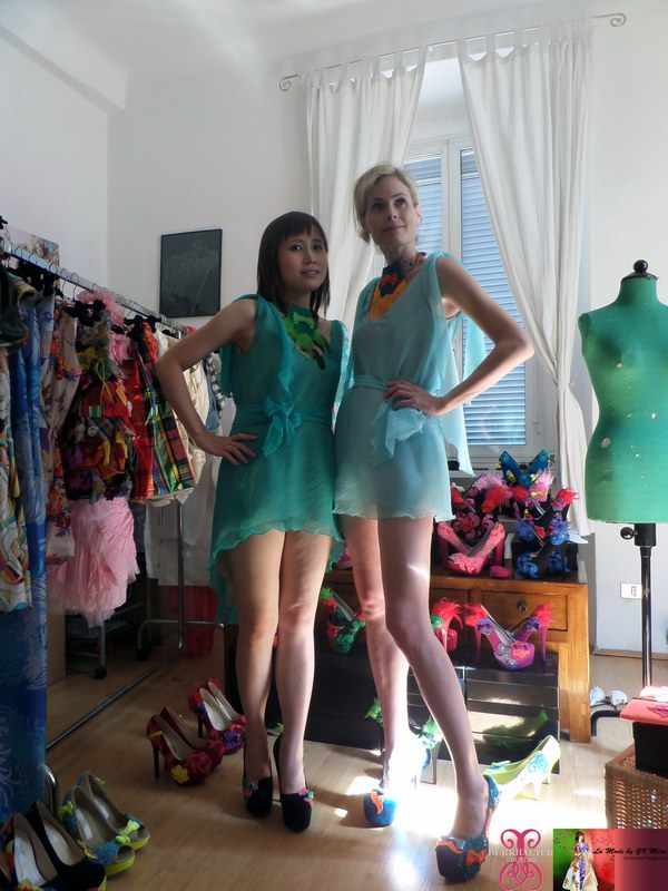 Play dress up at Burkhalter Couture studio (4)